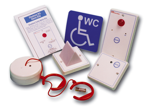 Disabled Toilet Alarm System